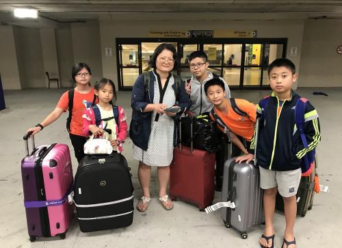 0724抵達紐華克機場